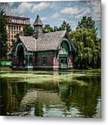 Summer In Central Park Metal Print