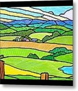 Summer In The Shenandoah Valley Metal Print