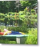Summer In Vermont Metal Print