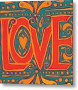 Summer Love  Metal Print