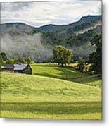 Summer Morning At Bakersville North Carolina Metal Print by Keith Clontz