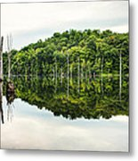 Summer Morning On Monksville Reservoir 2 Metal Print by Gary Heller