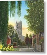 Summer Morning St. Mary Metal Print
