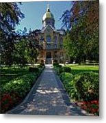 Summer On Notre Dame Campus Metal Print