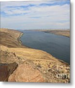 Summer On The Columbia River Metal Print
