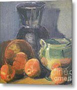 Summer Oranges Metal Print