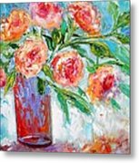 Summer Roses Metal Print