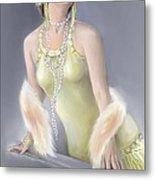 Summer Siren Metal Print