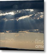 Summer Storm Clouds Metal Print