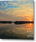 Summer Sunrise Metal Print
