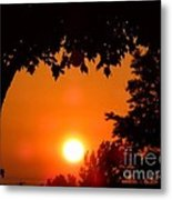 Summer Sunrise Right Side Metal Print