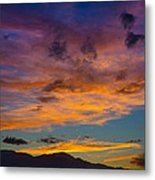 Summer Sunset Colorado Metal Print