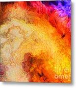 Summer Swirl Metal Print by Pixel Chimp