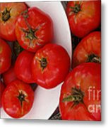 Summer Tomatoes Metal Print by Kathie McCurdy