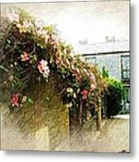 Summer Wall Metal Print
