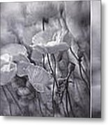 Summer Whispers Collage Metal Print