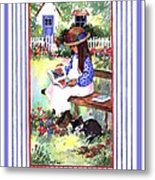 Summer's Day Story Metal Print
