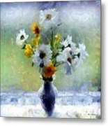 Summerstorm Still Life Metal Print