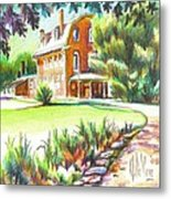 Summertime At Ursuline No C101 Metal Print