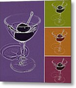 Summertime Cocktail Time Metal Print