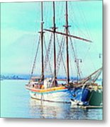 Summertime Will Be Soon And Then We Will Sail Away Again  Metal Print