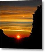 Summit Sunrise Metal Print