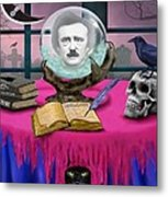 Summoning Edgar Allan Poe Metal Print