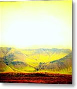The Sun Also Rises And So Do The Mountains  Metal Print