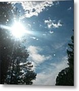 Sun And Country Metal Print