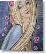 Sun And Roses 081008 Metal Print
