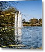 Sun City Entrance Metal Print