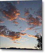 Sun Clouds Metal Print
