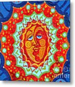 Sun God Metal Print