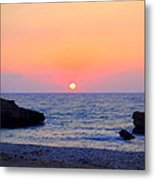 When Everyone Thinks That You Are Stupid, The Sun Goes Down Anyway  Metal Print