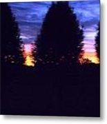 Sun Going Down Metal Print by Regina McLeroy