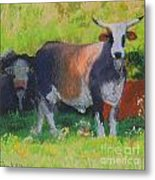 Sun In Taurus Metal Print