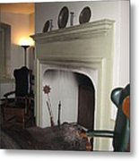 Sun Inn Fireplace Metal Print