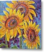 Sun-kissed Beauties Metal Print