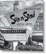 Sun-n-sand Motor Hotel II Metal Print