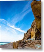 Sun On The Beach Metal Print