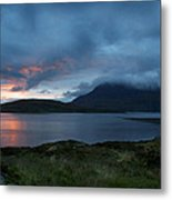 Sun On The Loch Metal Print