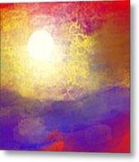 Sun Over The Canyon Metal Print