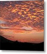 Sun Rise Colors Metal Print by Kiara Reynolds