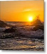Sun Splash Metal Print