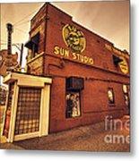 Sun Studios Memphis  Metal Print