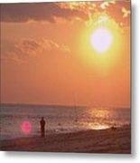 Sun Surf And Sea Metal Print
