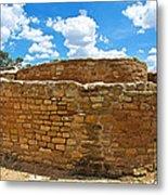 Sun Temple-1250 Ad In Mesa Verde National Park-colorado Metal Print