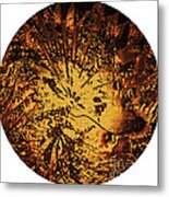 Sun - The Star Sign Of Lion Metal Print