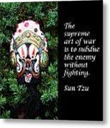 Sun Tzu's The Art Of War Metal Print