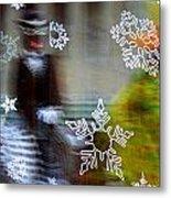 Sunbaked Snowflake Metal Print